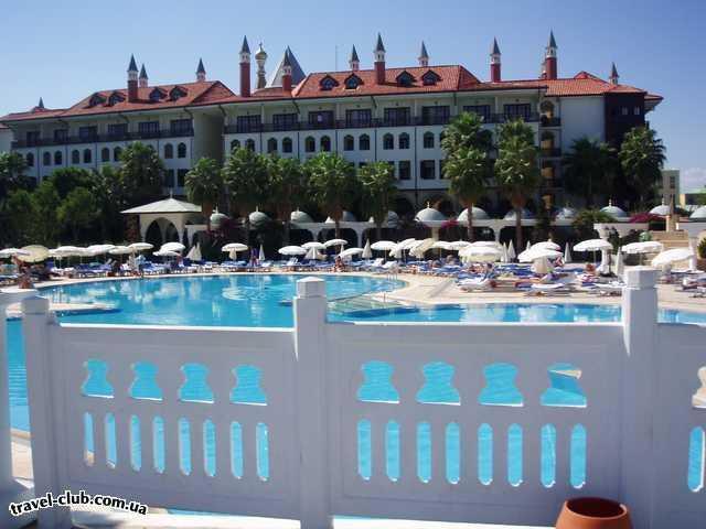 Турция  Анталия  Wow topkapi palace 5*  территория