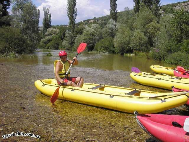 Хорватия  макарская ривьера, курорт башка вода  рафтинг на цетине...