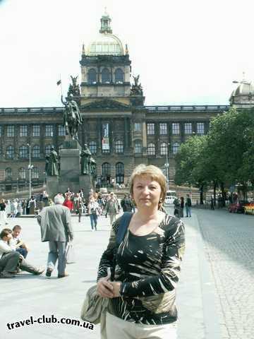 Чехия  Прага  Орлик  Прага. Вацлавская площадь.