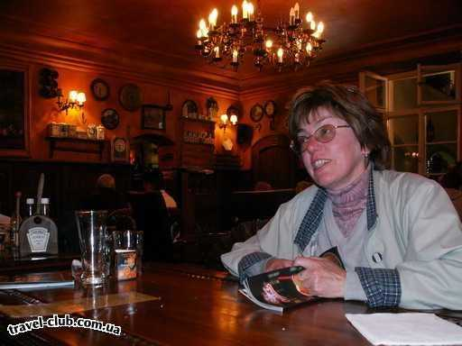 Чехия  Прага  Орлик  После долгих поисков сели здесь - в результате пиво ока