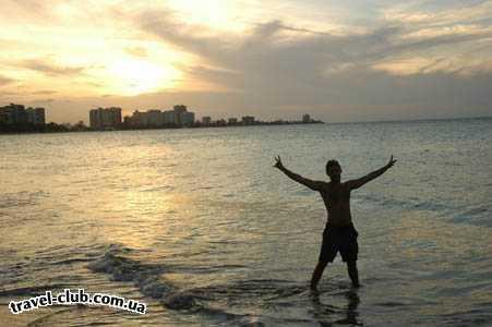 Пуэрто-Рико  Сан Хуан  Atlantic ocean... Islaverde Island