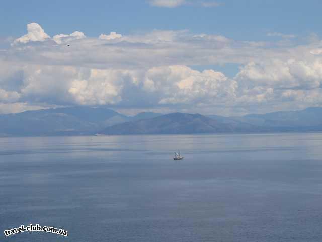 Греция  остров Корфу  Потрясающий остров