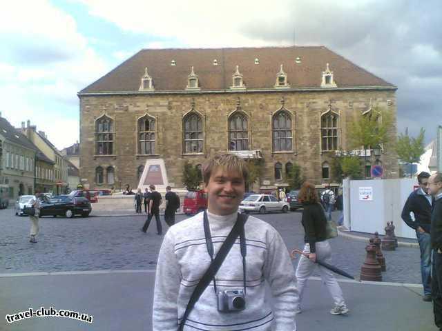 Венгрия  Будапешт  Полюш (Polus)  Какой-то замок в Будапеште.