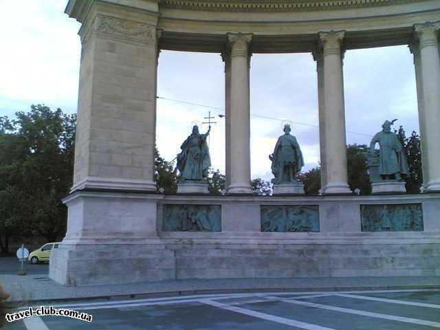Венгрия  Будапешт  Полюш (Polus)  Площадь героев