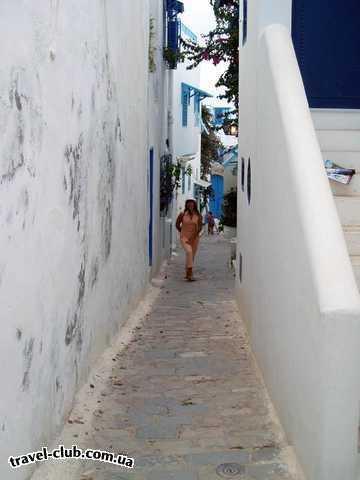 Тунис  Сусс  El Hana Beach  Сиди-Бу-Саид