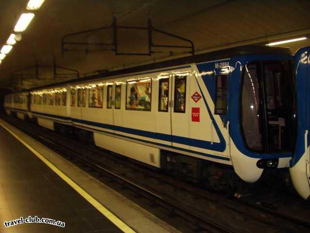 Испания  Мадрид  TRYP ALCALA 611  В мадридском метро