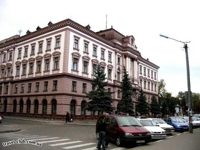 Украина  Карпаты  Ивано-франковск. Медицинский университет.