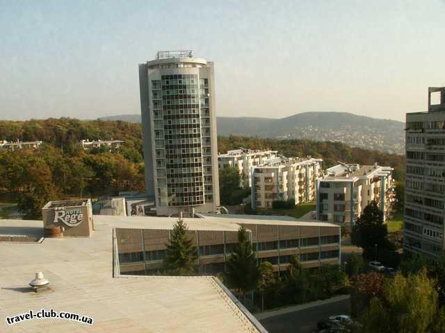 Венгрия  Будапешт  Europa  Вид на отель Europa из готиницы Rege