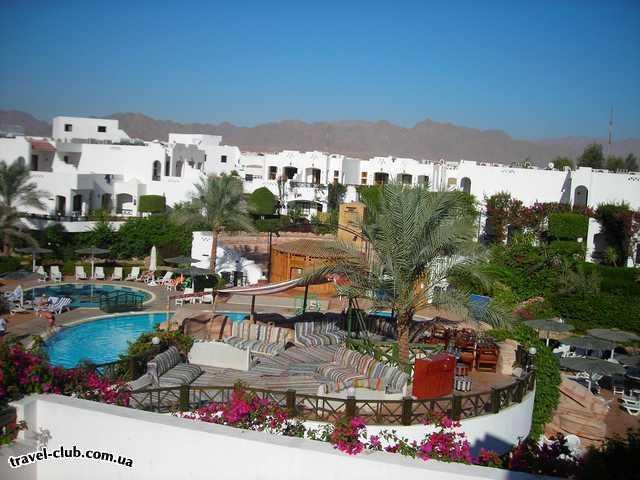Египет  Шарм Эль Шейх  Отель, вид с балкона