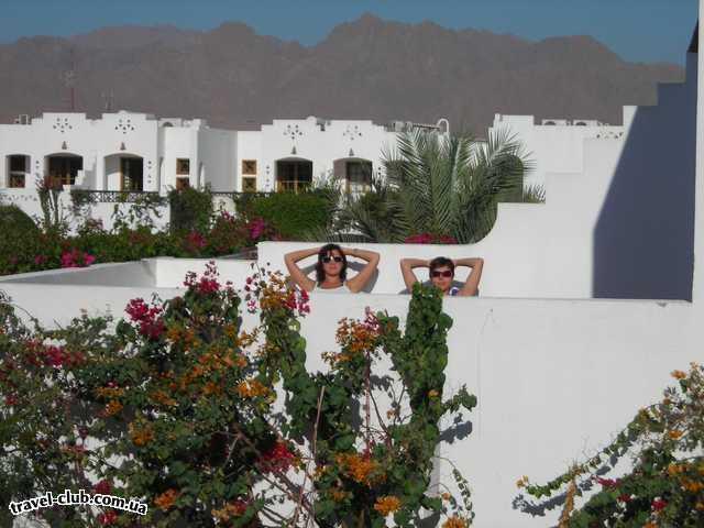Египет  Шарм Эль Шейх  наш большуший балкон