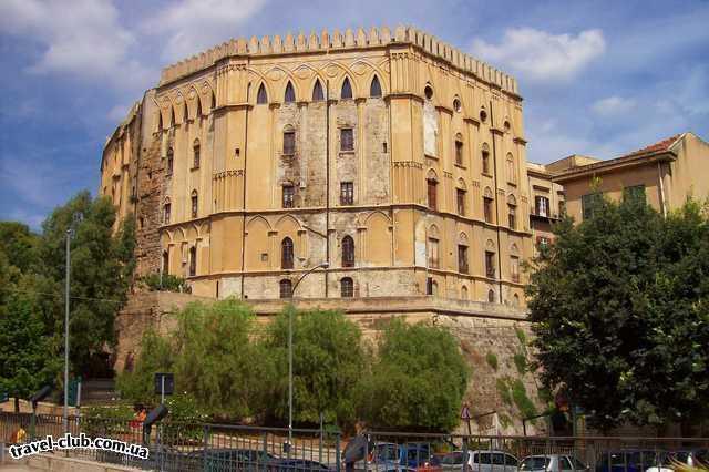 Италия  Сицилия  Дворец Норманнов-место нахождения Палатинской капелл�