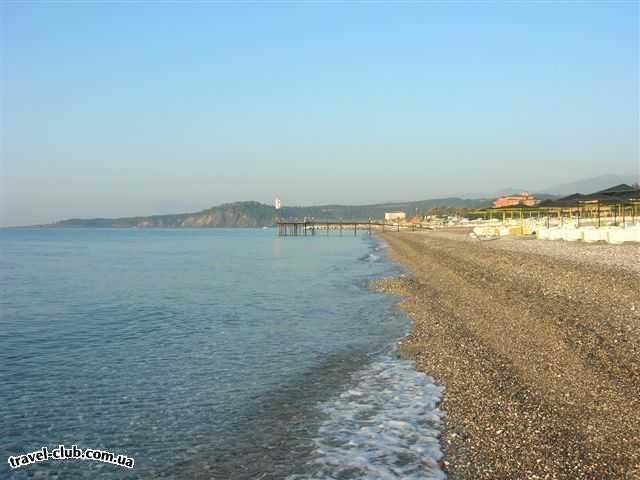 Турция  Кемер  Bella Vue Beach 4*  пляж
