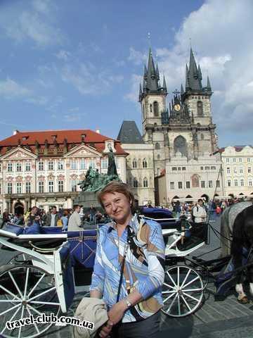 Чехия  Прага  Орлик  Прага. Староместская площадь