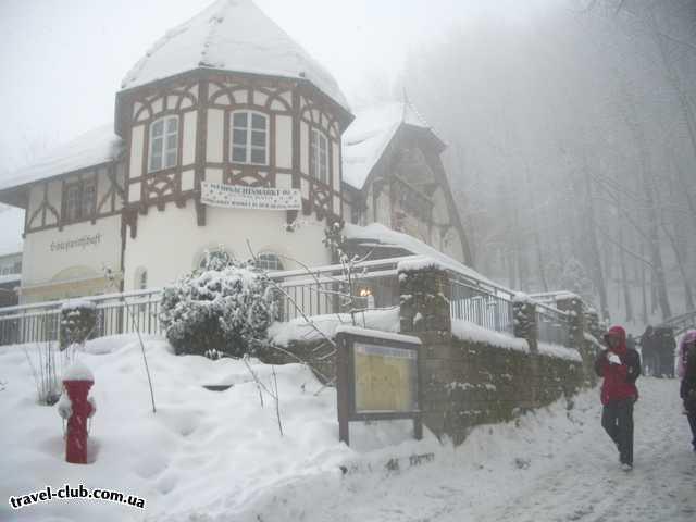 Германия  Бавария  отель Герцог  по дороге в замок ЛюдвигаII