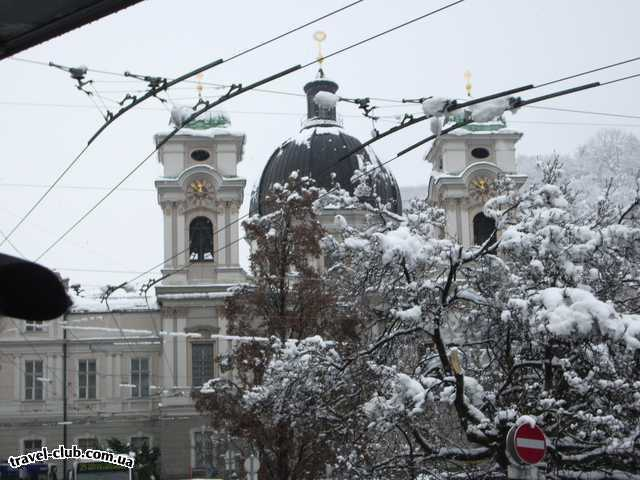 Германия  Бавария  отель Герцог  Заснеженный Зальцбург