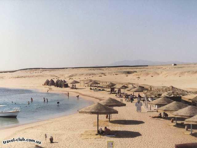 Египет  Хургада  Пляж коралловой бухты Шарм-эль-Нага