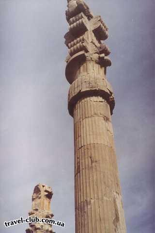 Иран  Шираз  Персеполис, колонна