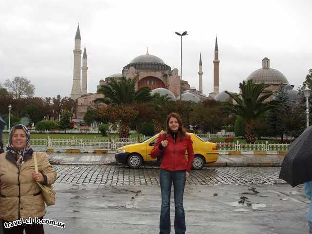 Турция  Стамбул  собор Святая София