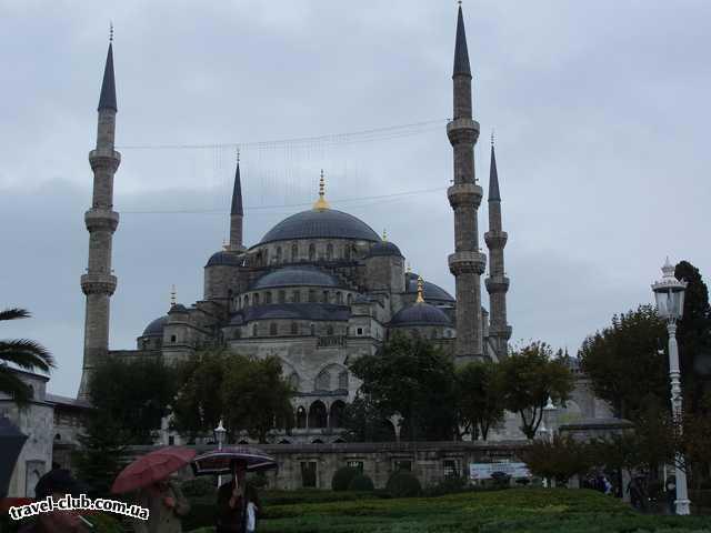 Турция  Стамбул  мечеть Султан Ахмет