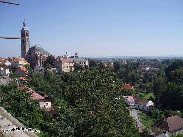 Чехия  Кутна гора  прекрасный город