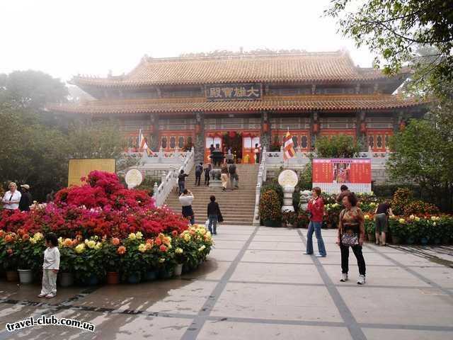 Китай  Гонконг (Сянган)  Храм.
