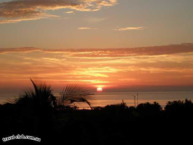 Куба  Варадеро  SOL SIRENAS CORAL  Рассвет