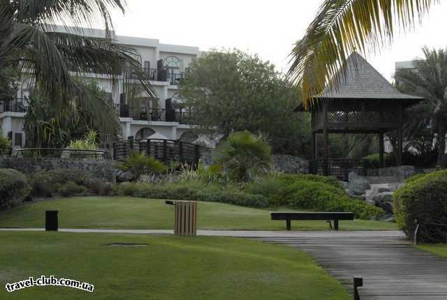 ОАЭ  Дубай  Территория отеля