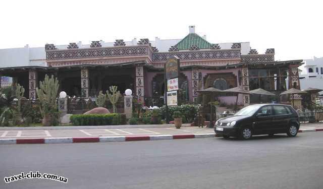 Марокко  Ресторанчик в Агадире