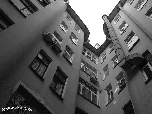Россия  Москва. Питер  Питерский дворик
