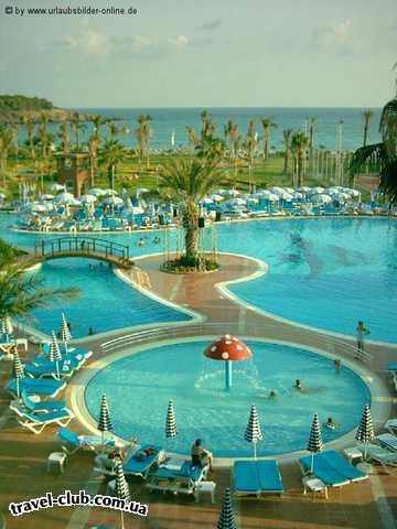 Турция  Алания  Arycanda de luxe 5*  басейн