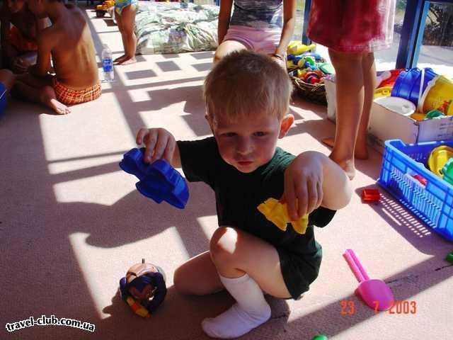 Турция  Кемер  Grand kemer 5*  В детской комнате