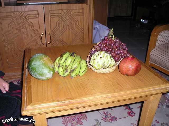 Египет  Фрукты - манго, анона , гранат, виноград. Внимание, по сп�