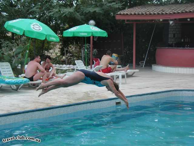 Турция  Кемер  Sun park 3*  А проигравший прыгает в бассейн!
