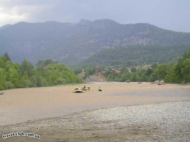 Турция  Экскурсии  Рафтинг  Следующие герои покаряют реку