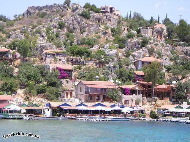 Турция  Экскурсии  Мира-Кекова  Город. Попасть в него можно только через море. Вода при�