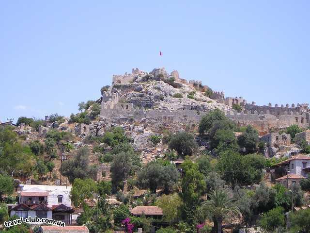 Турция  Экскурсии  Мира-Кекова  Крепость