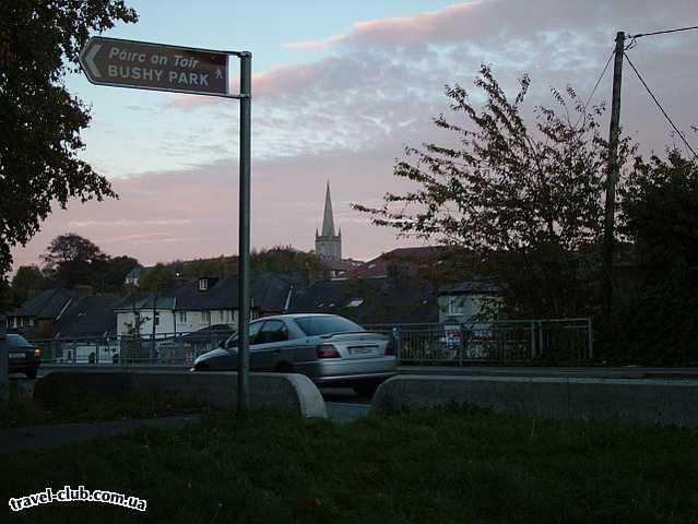 Ирландия  Дублин  Rathfarnham village, Bushy Park<br /> в Ирландии все близко