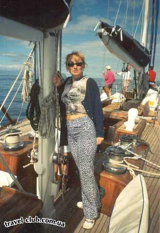 Испания  Тенерифе  на яхте по Атлантическому океану