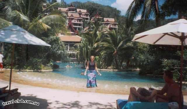 Таиланд  Отель Thavorn Beach Village SPA 5*. Очень красивый отель, прекрасно�