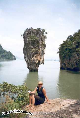 Таиланд  За моей спиной остров Джеймса Бонда - достопримечатель