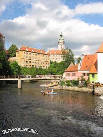 Чехия  Южная Чехия  Влтава под замком