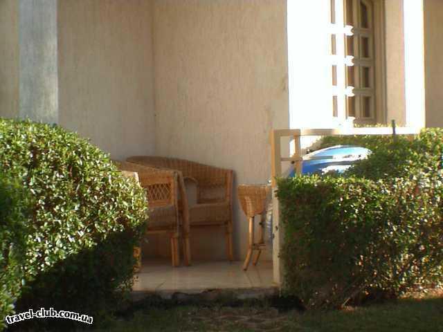 Египет  Шарм Эль Шейх  Days inn gafy resort 4*  Балкон прямо в номер