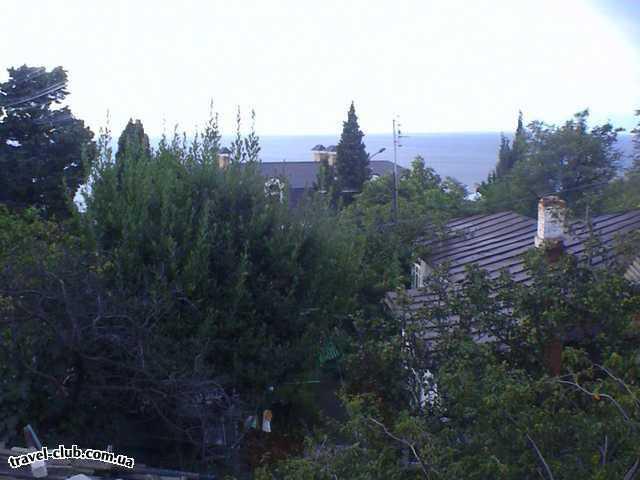 Украина  Крым  Вид из окна