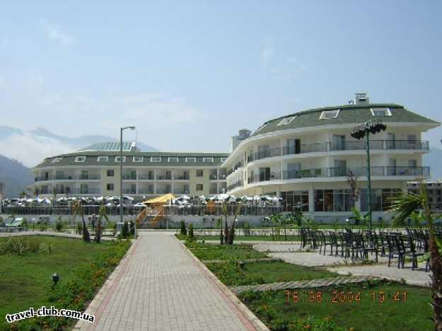 Турция  Кемер  Отель Zena 5*. Общий вид