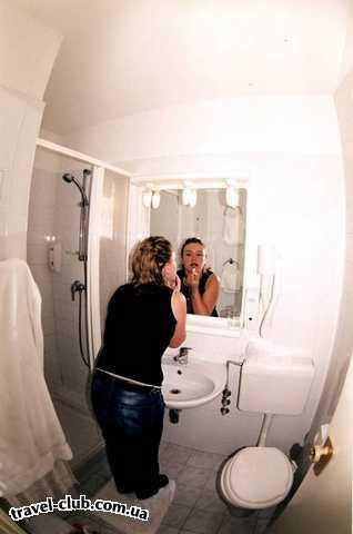 Хорватия  Средняя Далмация  Шибеник  Solaris  Наша ванная в номере