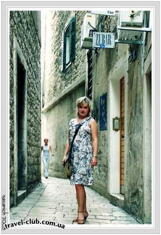 Хорватия  Средняя Далмация  Шибеник  Solaris  Сплит. Старые улочки Дворца Диоклетиана.