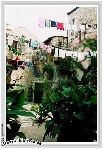 Хорватия  Средняя Далмация  Шибеник  Solaris  Сплит. Старый город.
