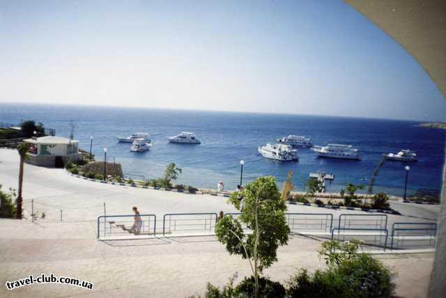Египет  Шарм Эль Шейх  Отель Роял Роджана вид из нашего номера